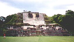 Piramida w Altun Ha